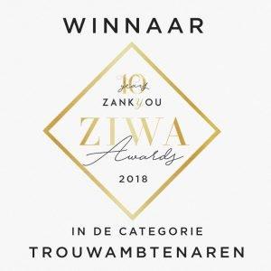 Winnaar Ziwa Trouwambtenaar